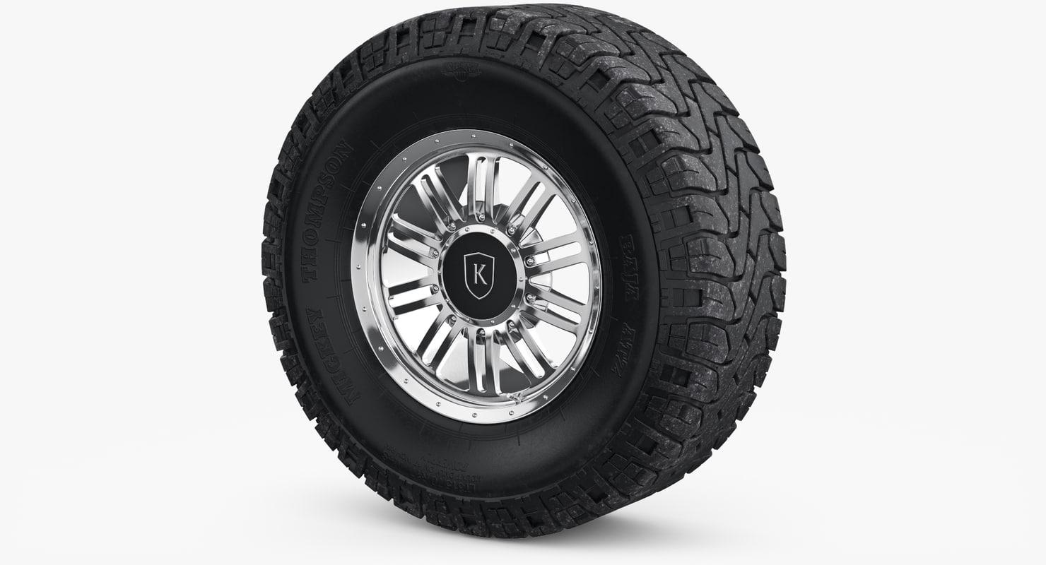 wheel rim mickey thompson 3D