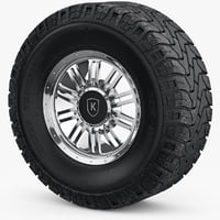 wheel rim mickey thompson 3D