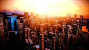 new york city 3D model