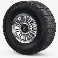 Wheel, Rim, Mickey Thompson with Brakes