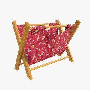 3D folding bag