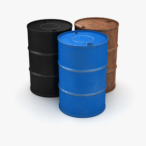 barrels contained 3D
