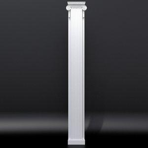 pilaster 3 model