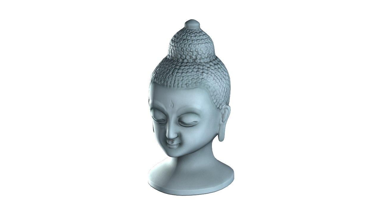 head buddha 3D model