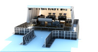 umf-stage control room vi 3D model
