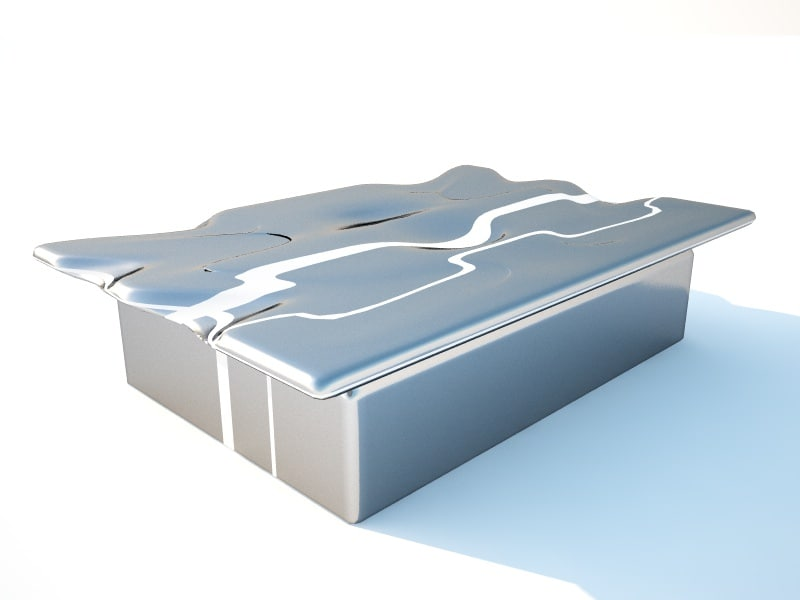 modern table 3D