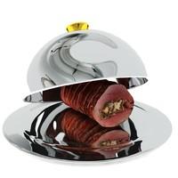 3D roast beef silver