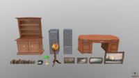 desk table lamp model