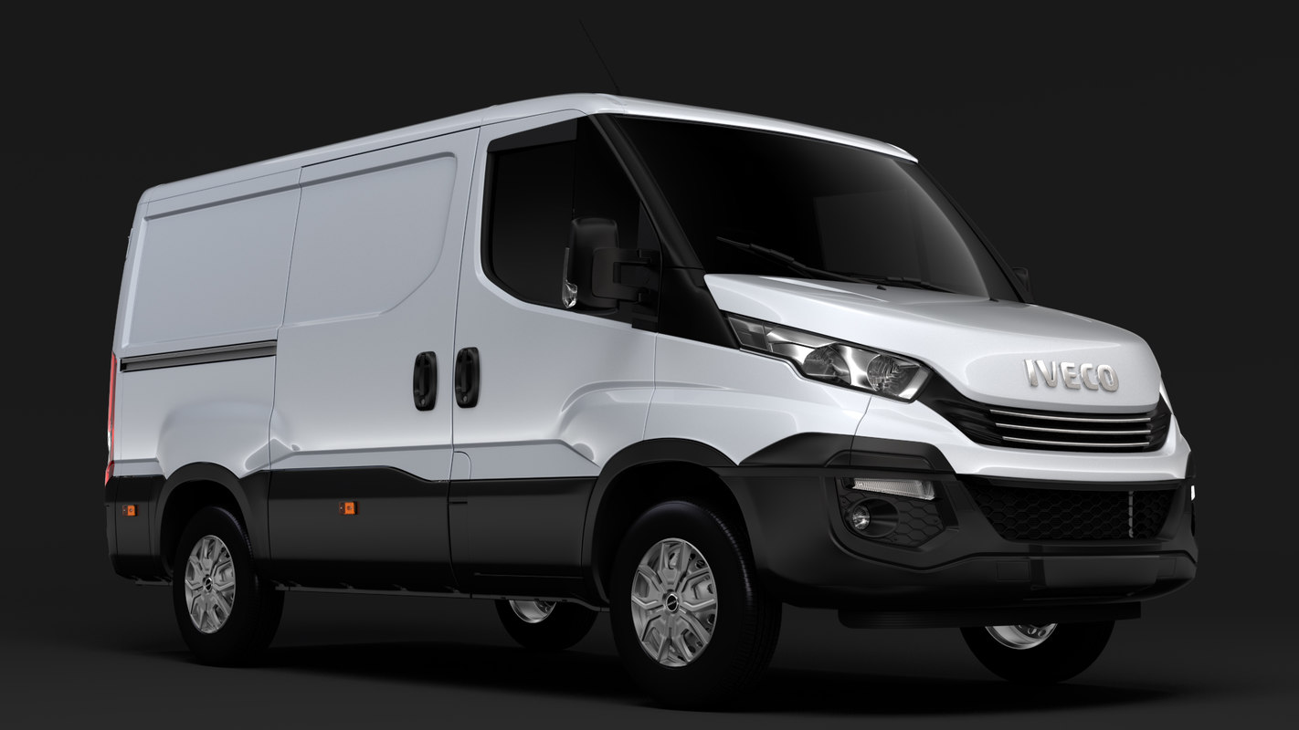 3D iveco daily l1h1 2017