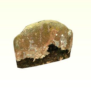 headstone 3D model