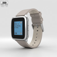 pebble time steel 3D