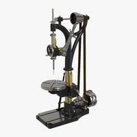 vintage drill press model