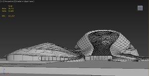 3D 3d architectural model