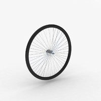 3D model bicycle tyre