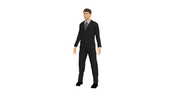 3D man 25 years old