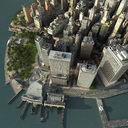 Manhattan Lower Tip Low Poly