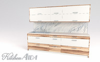 kitchen aida - small 3D model