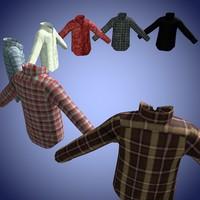 3D 7 shirts