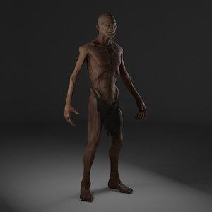 mutant 3D model
