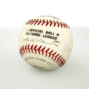 major league baseball 3D model