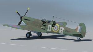 spitfire supermarine model