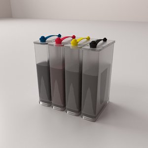 3D continuous ink
