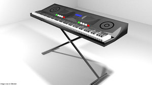 electric piano model