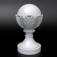 3D sphere model