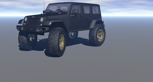 mickey thompson baja claw 3D