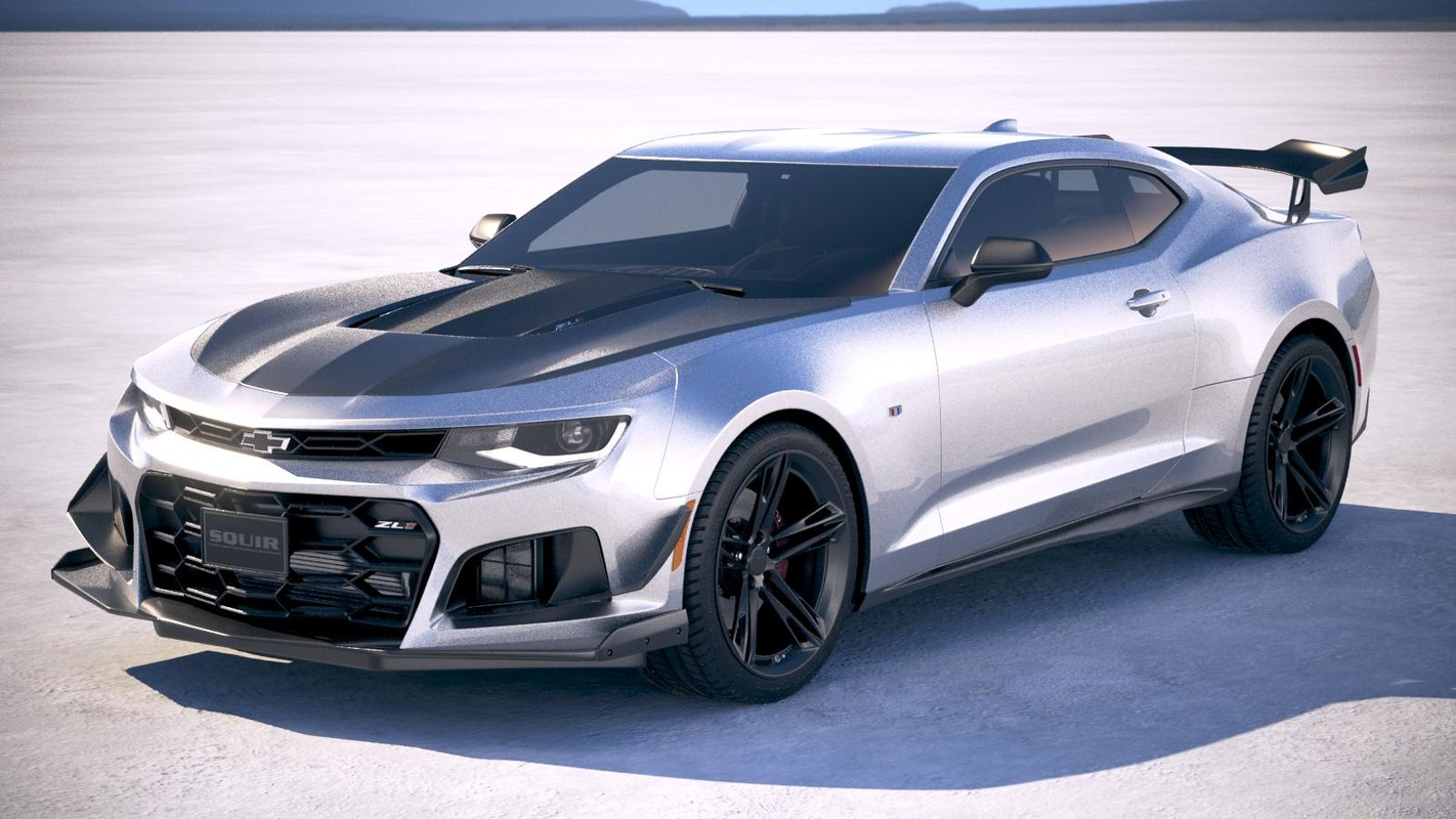 3d Chevrolet Camaro Zl1 Model Turbosquid 1149980