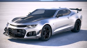 3D chevrolet camaro zl1 model