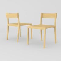 3D sanos chair model