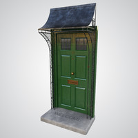 door porch 3D