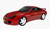 3D model sports car nissan