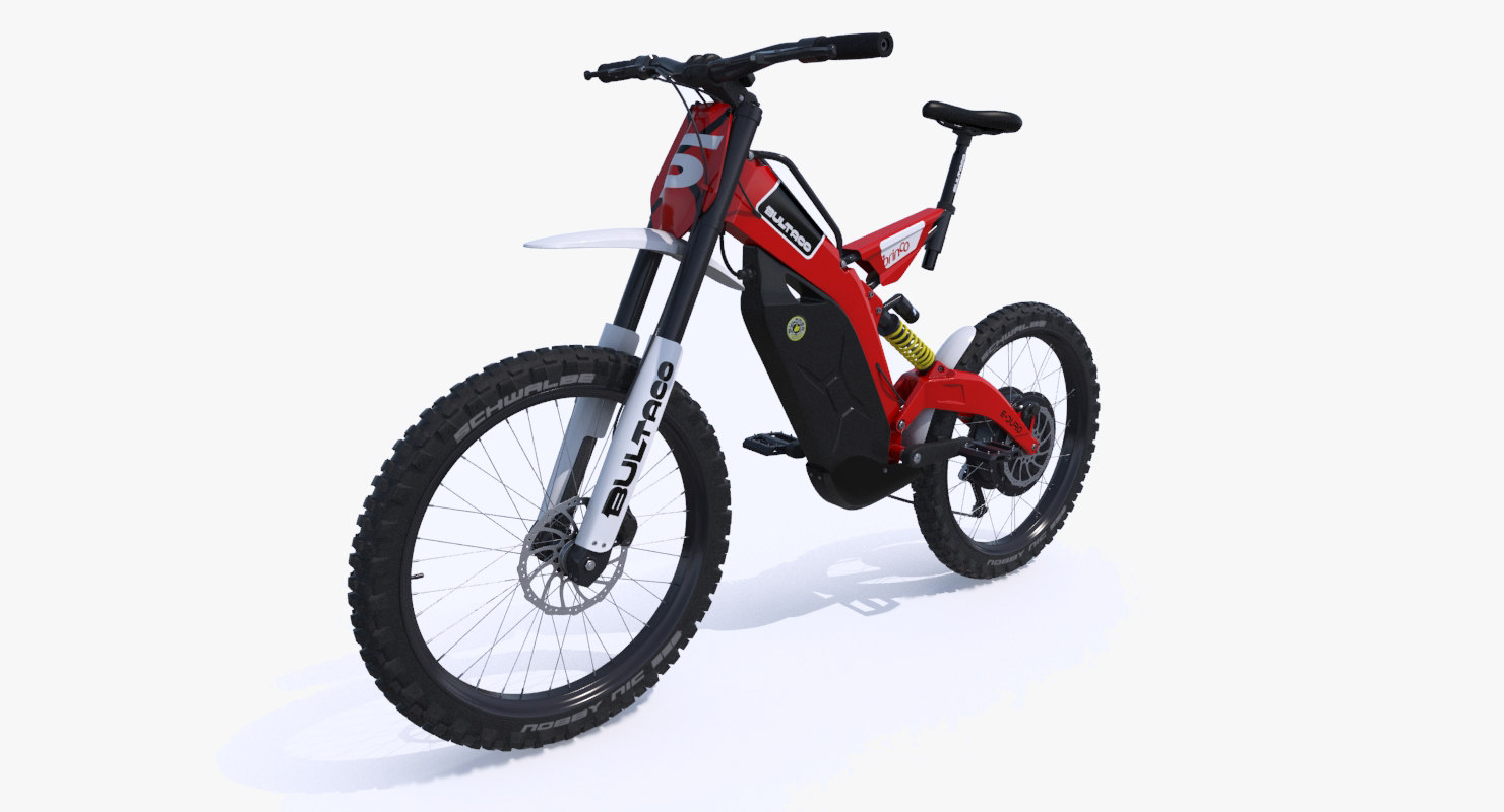 3d electric bike bultaco brinco model turbosquid 1150027. Black Bedroom Furniture Sets. Home Design Ideas