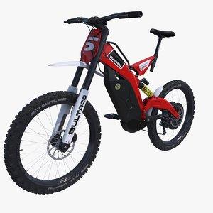 3D electric bike bultaco brinco model