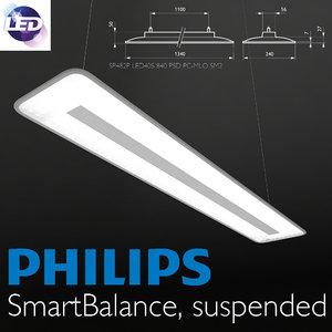 philips smartbalance 3D model