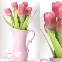tulip flowers model
