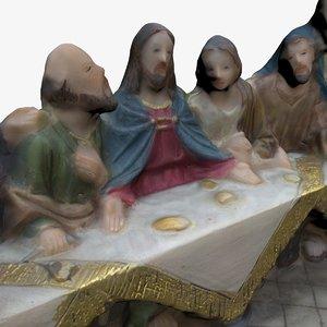 3D model supper