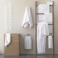 A set of towels for the bathroom m30