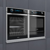 Samsung electric oven NV9900J and compact oven NQ50J5530BS