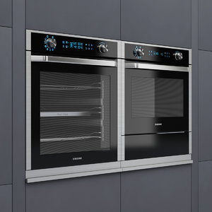 3D samsung nv9900j electric oven