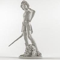 Andrea Del Verrocchio - David with The Head of Golliath
