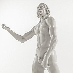 auguste rodin - st 3D model