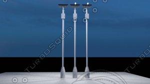 lightpole light 3D model