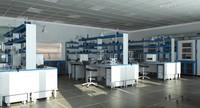 science laboratory model