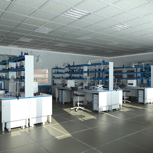 science laboratory model