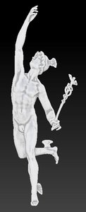 hermes mercury statue model