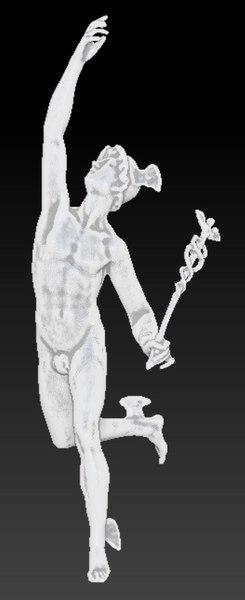 hermes mercury statue model