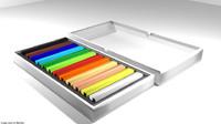 3D drawing pastel tool model